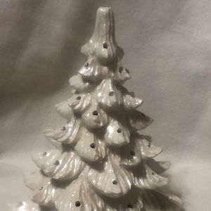 Mother of Pearl Milk White Christmas Tree